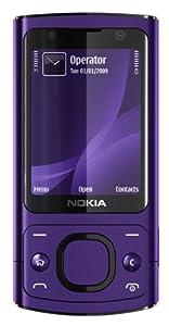 Nokia 6700 slide Handy (UMTS, GPRS, Bluetooth, Kamera mit 5 MP, Musik-Player) purple