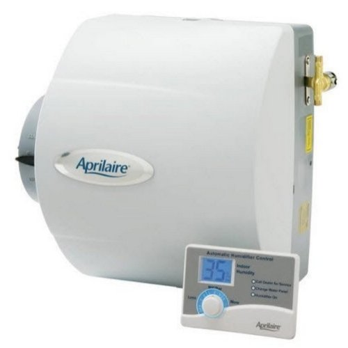 Aprilaire 400 Humidifier, 24V Drainless Whole House Humidifier w/ Auto Digital Control .7 Gallons/hr