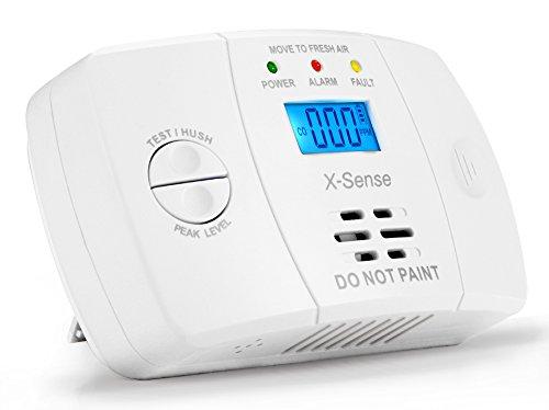 comparamus x sense co03m d tecteur de monoxyde de carbone certifi ce alarme co avec pile. Black Bedroom Furniture Sets. Home Design Ideas