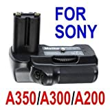 Neewer� Vertical Battery Grip for Sony Alpha A350 A300 A200 Digital SLR Cameras -Replacement for Sony VG-B30AM Vertical Grip ~ Neewer