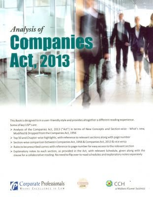 Analysis of Companies Act 2013