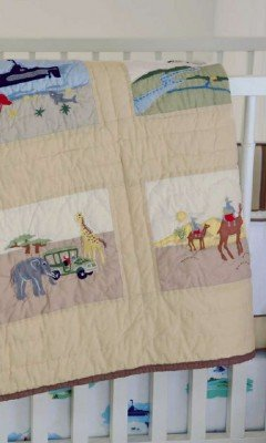 Whistle And Wink Nursery Quilt (Adventure Patches) front-554875