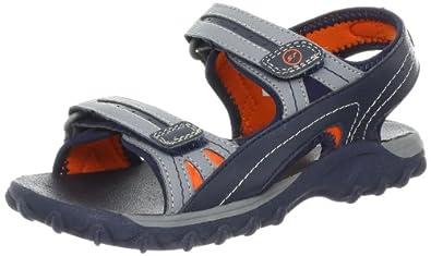 Stride Rite Spike Water Sandal (Toddler/Little Kid/Big Kid),Navy/Grey/Moab,1 M US Little Kid