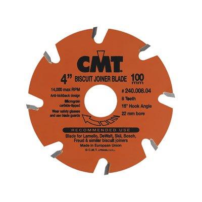 Hardware Distributors CMT240.006.04 4 in. Biscuit Joiner Blade