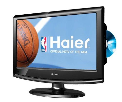 Haier HLC22K2 Black 22-Inch LCD HDTV DVD Combo K Series