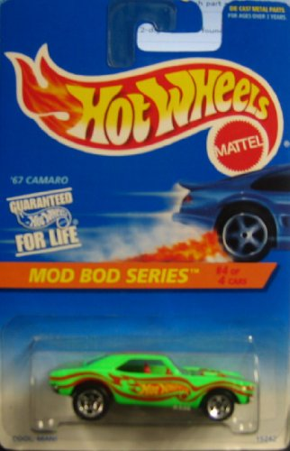 mattel hot wheels mod bod series 4 of 4 67 camaro 399
