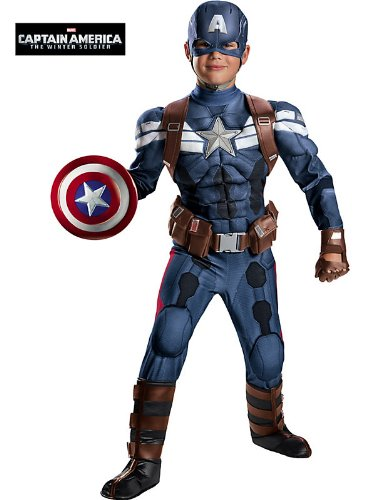 Disguise Saban Marvel Captain America The Winter Soldier Movie 2 Costume