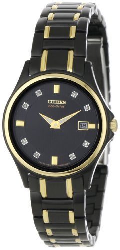 Citizen Women's GA1038-56G 8 Diamond Eco-Drive Watch