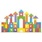 Foam Building Blocks - 100 Pieces