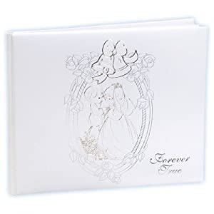 Precious Moments Wedding Guest Book, 7 by 9-Inch
