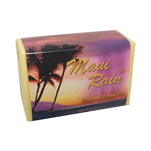 Maui Rain Luxury Bath Bar Soap Hawaiian Classic Perfumes (Maui Rain Perfume compare prices)