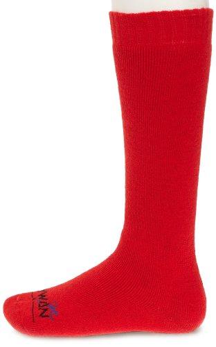 Rywan - Ski Basic Schuss, Calze unisex, rosso(rouge (rouge)), taglia produttore: 47-50