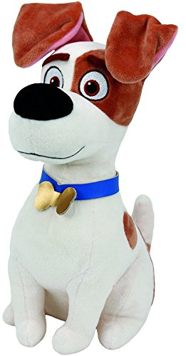 Beanie Buddies Collection T96294 - Peluche Pets Vita da Animali Max, 33 cm