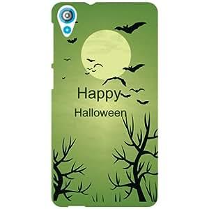 HTC Desire 820 Back Cover - Happy Halloween Designer Cases