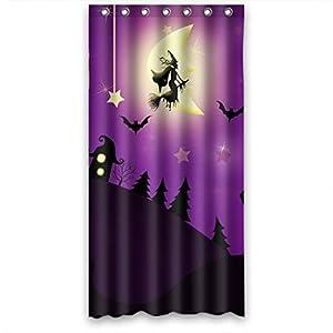 Joyous Halloween Night Hotselling Fabric Shower Curtain 36 W X72 H Home Kitchen