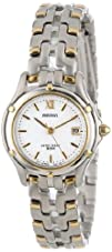 Seiko Womens SXE586 Le Grand Sport Two-Tone Watch