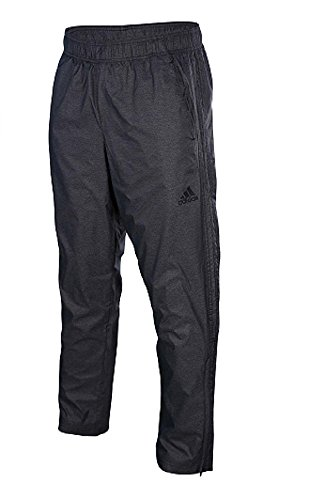 adidas Performance Men's Essential Woven Pants, Large, Black/Black