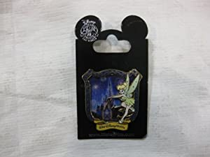 Disney Pin Tinkerbell over Cinderella Castle with Frame