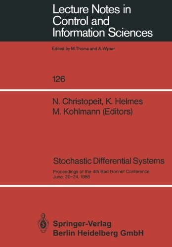 Stochastic Differential Systems: Proceedings of the 4th Bad Honnef Conference, June, 20-24, 1988 (Lecture Notes in Control and Information Sciences) (Tapa Blanda)