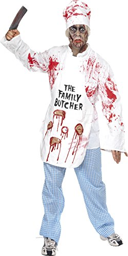 Deadly Chef Costume Man Fancy Dress