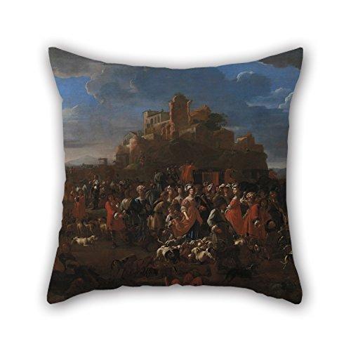 bestseason-oil-painting-la-curea-cure-con-corte-regale-pillow-cases-16-x-16-inches-40-by-40-cm-best-