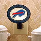 Buffalo Bills Art-Glass Nightlight-NFL