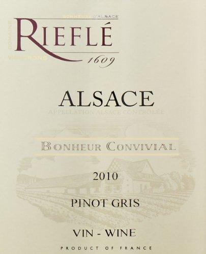 2011 Domaine Rieflé Pinot Gris 750 Ml