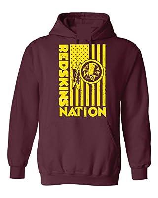 Local Imprint Men's Redskins Nation Hoodie
