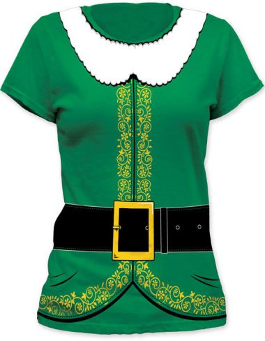Elf Tuxedo Costume Girl's T-Shirt #18