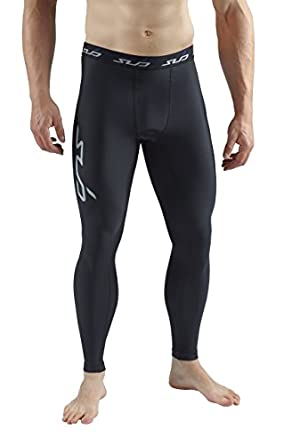 Sub Sports COLD Men's Thermal Compression Base Layer Leggings / Tights - Black - S