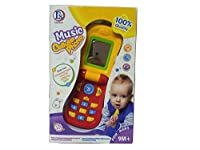 TOY MUSIC CELLULAR PHONE FOR KIDS 9M+