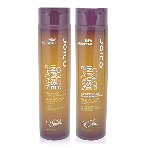 Joico Color Infuse Brown Shampoo and Conditioner 10.1 Oz Duo (Color Conditioner Brown compare prices)