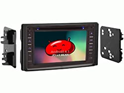 See OTTONAVI kia Rondo 2007-2010 In-Dash Double Din Android Multimedia K-Series navigation Radio with Complete Kit Details