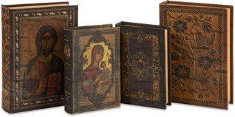 Imax Alvarado Book Boxes, Set Of 4