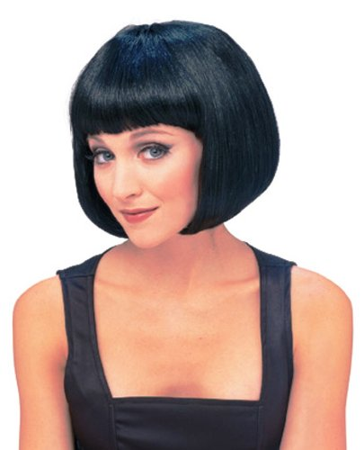 Rubie's Costume Women's Black Super Model Wig