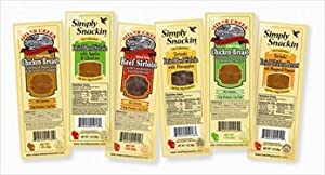 Silver Creek Meats Jerky (5 Pack)- Italian Chicken