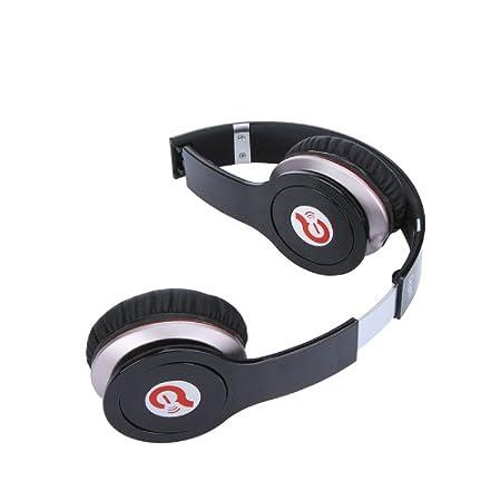 Kingzer Noir Casque filaire antibruit Écouteurs pour iPod iPhone Syllable G05