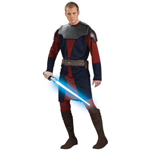 Deluxe Anakin Skywalker Costume - Standard - Chest Size 40-44