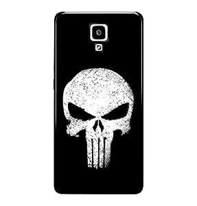 The Fappy Store skull plastic back cover for Xiaomi redmi mi 4
