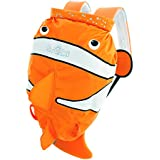 Trunki PaddlePak Water-Resistant Backpack - Chuckles the ClownFish (Orange)