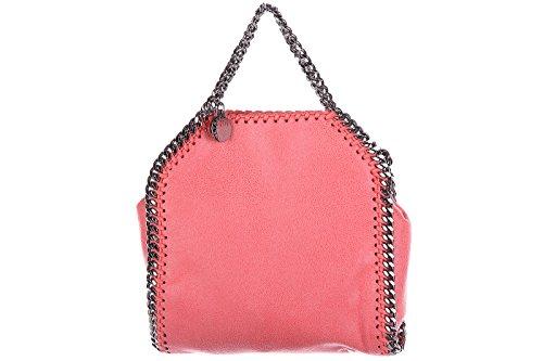 Stella Mccartney borsa donna a mano shopping nuova originale falabella micro rosa