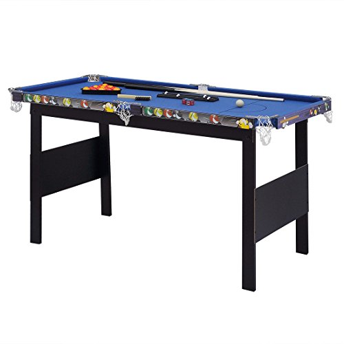 Hlc blue billiards snooker game table pool table for kids for Supreme 99 table game