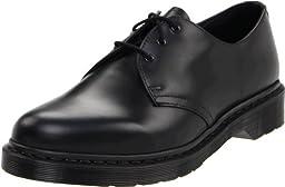 Dr. Martens 1461 Shoe,Black Smooth,7 UK/8 M US