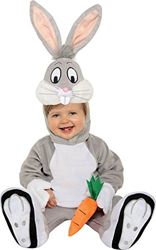 Rubie's Bugs Bunny Looney Tunes Toddler Complete Costume Sz 3t-4t