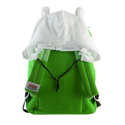 Adventure Time Finn Backpack & Hat Costume Combo Set