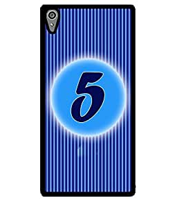 Fuson 2D Printed Numerology Designer back case cover for Sony Xperia Z5 - D4222
