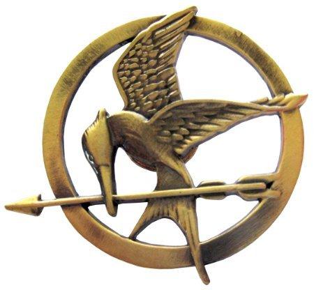 The Hunger Games Movie Mockingjay Prop Rep Pin (Katniss Mockingjay Pin)