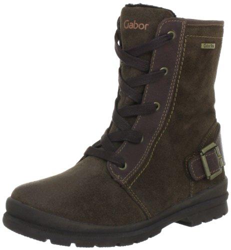 Gabor kids Victoria Boots Unisex-Child Brown Braun (darkbrown) Size: 28