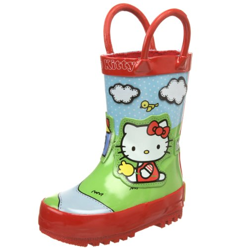 Western Chief Toddler/Little Kid Hello Kitty Scenic Rain Boot