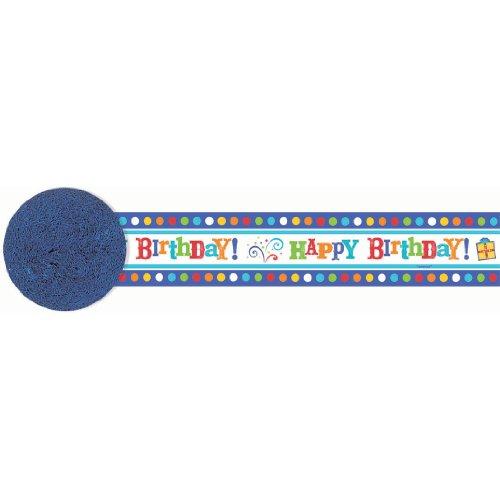 Birthday Fever Crepe Streamer - 1